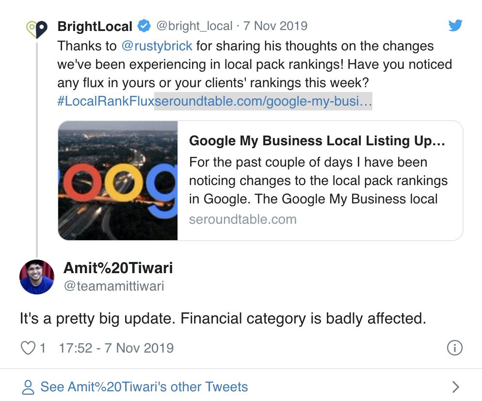 tweet bright local